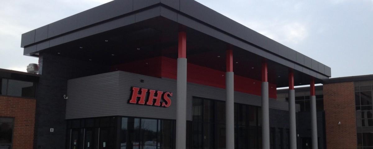 New-Entrance-Huntley-HS