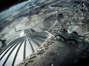 3d Lunar Base
