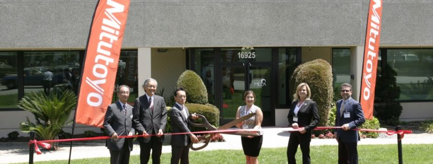 PHOTOS: RIBBON CUTTING CEREMONY FOR THE MITUTOYO AMERICA LA OFFICE