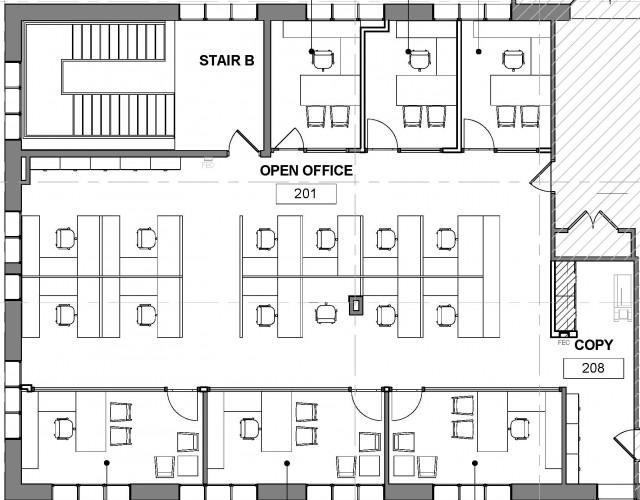 Oak Lawn Bank Floor Plan