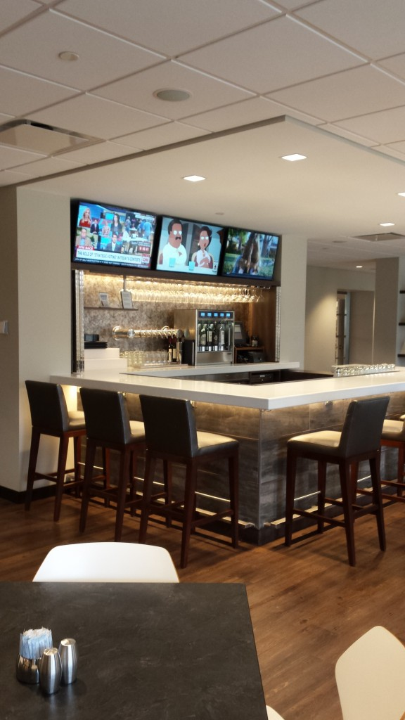 Municipal Credit Union >> Q Center Cafe Renovation - Lamp Incorporated