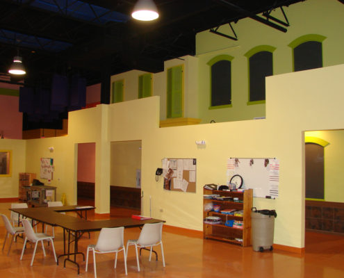 Search Administration Offices & Classroom Space Renovation