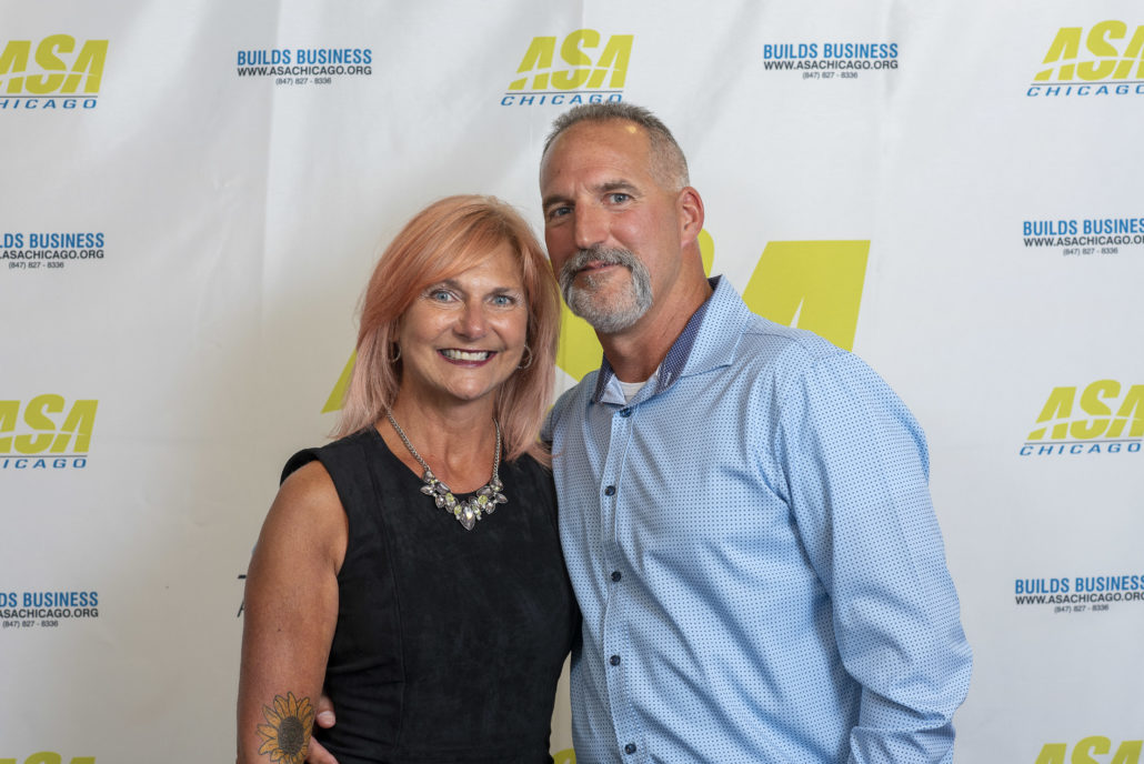 ASA Award Night - Darren and Sue Thibert