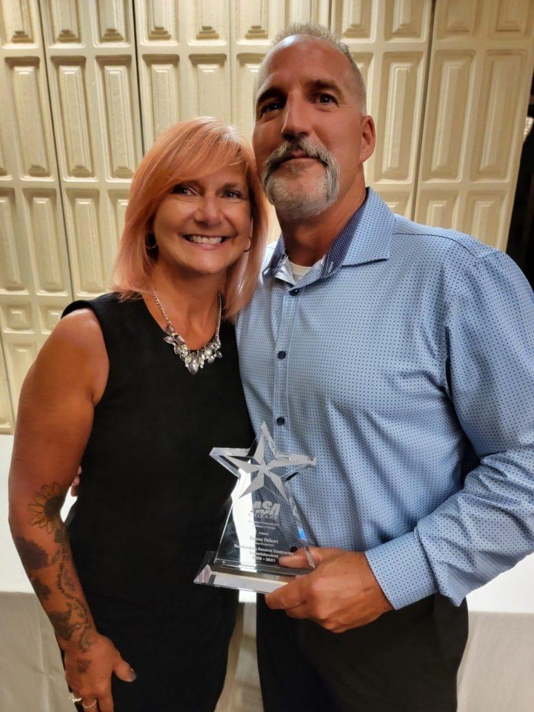 Darren Thibert and Wife Sue - ASA Chicago's 26th Annual Awards Evening