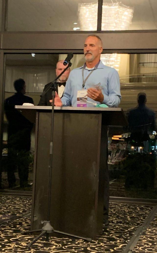 Darren Thibert, Award Acceptance - ASA Chicago's 26th Annual Awards Evening